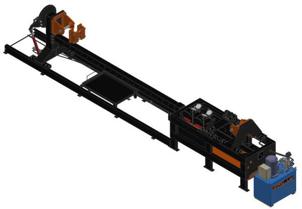 Стенд для сборки и разборки гидроцилиндров, модель СОГ-2,5-400