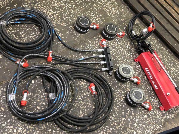 Система для опрессовки обмоток трансформаторов (СООТ-1)