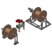Оборудование для перемотки и размерной резки стальных канатов (тросов)