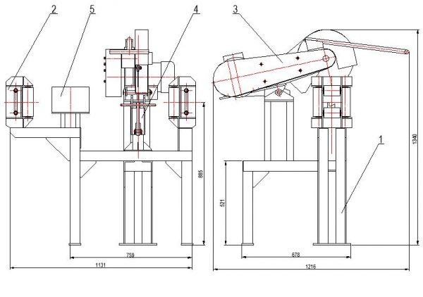 Устройство для размерной резки стальных канатов