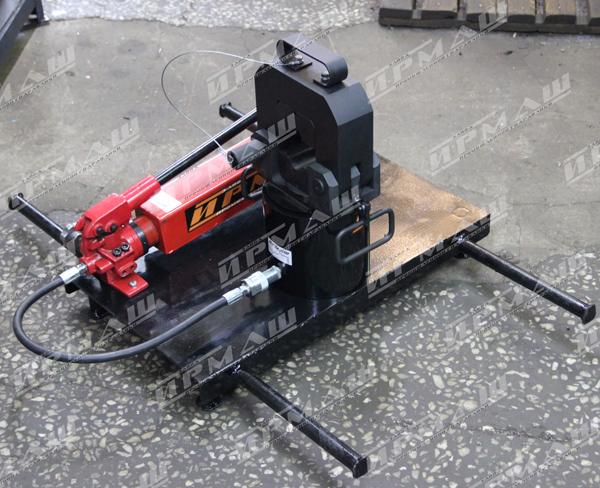 Пресс гидравлический для опрессовки стальных канатных стропов ППК-С100