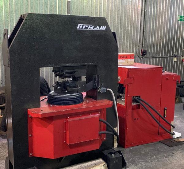 Пресс гидравлический для опрессовки стальных канатных стропов (ППК-С600)