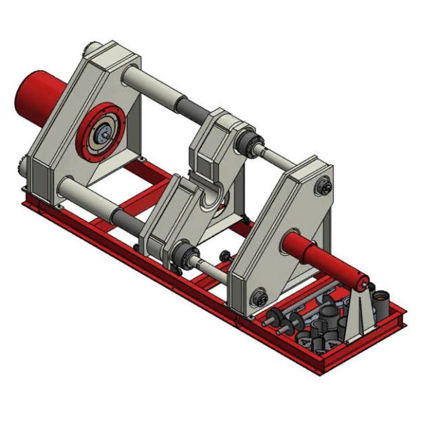 Пресс для монтажа/демонтажа колес с осей колесных пар ПЗР-600