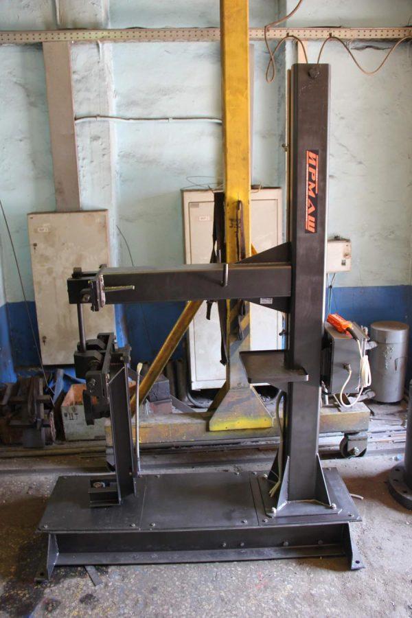 Приспособление для ручной заплетки стропов (вертикальное) (ПЗС-50В)