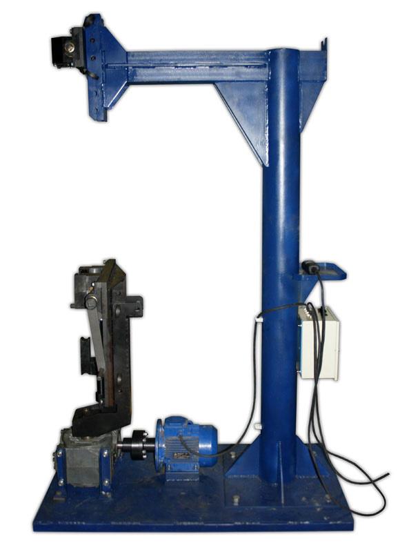 Приспособление для ручной заплетки стропов (вертикальное) (ПЗС-37В)