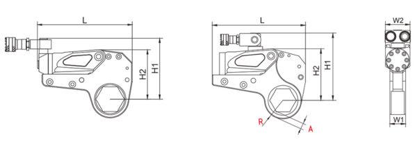 Гайковерты гидравлические кассетные