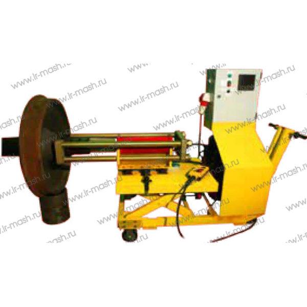 Установка для монтажа и демонтажа внутренних колец подшипников букс колесных пар УМДВКП-1