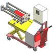 Установка для монтажа и демонтажа внутренних колец подшипников букс колесных пар РУ1 и РУ1Ш-1 (УМДВКП-1)