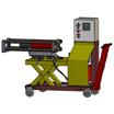 Установка для демонтажа и монтажа подшипников шейки оси колёсной пары (УМДВКП-2)