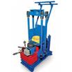 Установка для сборки и разборки пружинно-фрикционных поглощающих аппаратов грузовых вагонов (УРПФА-1У)