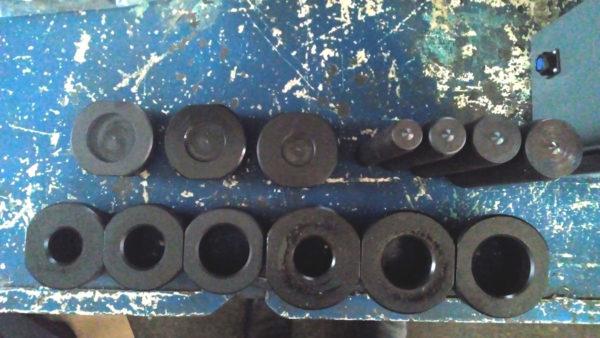 Опора выпрессовщика пальцев гусеничных цепей гидравлический (ВП150Г200)